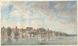The Visrant ghaut on the river Jumna at Mathura